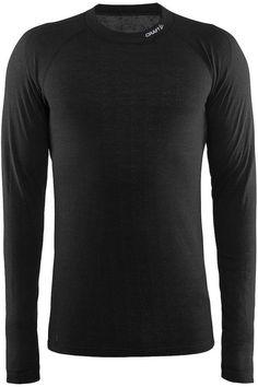 892cdcdfca4 Thermoshirt - Nordic Wool - Lange mouw - Heren - Craft - Zwart - Maat XXL