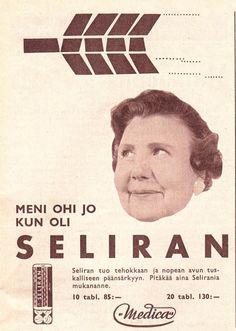 SELIRAN  Kotiliesi 1960