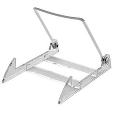 """4-1//2/"""" Adjustable Clear Acrylic Holders 3 Pack Plate Display Stand Easels"""