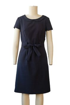 Buy the Bistro Dress sewing pattern from Liesl + Co. This semi-fitted sheath dress is designed to be both flattering and comfortable. Linen Dress Pattern, Dress Sewing Patterns, Pattern Sewing, Simple Dress Pattern, Diy Fashion Projects, Fashion Ideas, Fashion Tips, Sewing Blogs, Sewing Ideas
