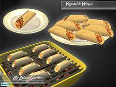 BlackGarden's Vegetable Wraps