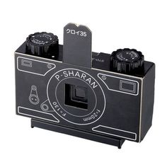DIY Pinhole Camera Kit, $20, now featured on Fab.