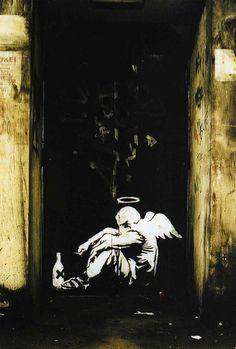 Banksy. This speaks to me.