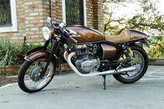 10º - CB 400 by Garage BR 440 | Garagem Cafe Racer