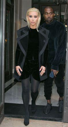 BREAKING HAIR NEWS: Kim Kardashian now looks a bit like Draco Malfoy.