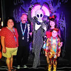 Meet and Greet with Jack Skeleton @ Mickey's Halloween Party 2014  #tbt #nightmarebeforechristmas #disneyland by djrecklessrob