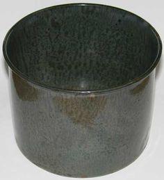 Gray GRANITEWARE Pail Bucket Insert Vintage Enamelware 18.95