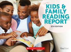 """The """"Kids and Family Reading Report"""" from Scholastic provides an up-to-date analysis of children's and parents' attitudes and habits related to reading. This biannual survey presents key findings related to preferences in children's books, reading behaviours at home and school, and motivations for reading."""
