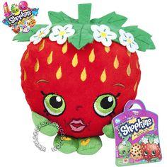 #Peluche #Shopkins #Strawberry #Kiss #Originales #Moose #CosasDeChicos  Super suavecitos, con hermosos detalles bordados. Miden 20 cm.