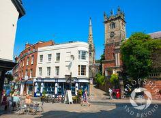 The High Street, Shrewsbury. Shropshire, England
