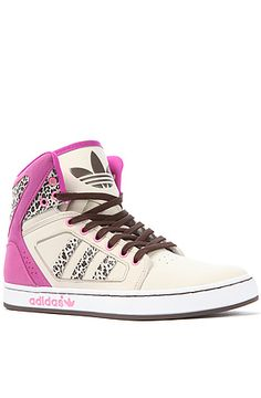 The Adidas High Ext W Sneaker in Vivid Pink by adidas #shoes #sneakers #karmaloop $85