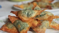 Spinach and cream cheese dumplings (updated with a new variation after the original recipe)