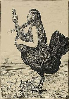 """hans thoma,""""siren"""" - this is really what they look like"""