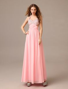 Design your own Halter Draped Chiffon Floor Length Pink A Line Evening Prom Dress at Oridress. Shop the best quality Halter Draped Chiffon Floor Length Pink A Line Evening Prom Dress t the most affordable prices! Stunning Prom Dresses, Prom Dresses 2015, Pink Prom Dresses, Mermaid Prom Dresses, Cheap Prom Dresses, Evening Dresses, Casual Dresses, Fashion Dresses, Bridesmaid Dresses