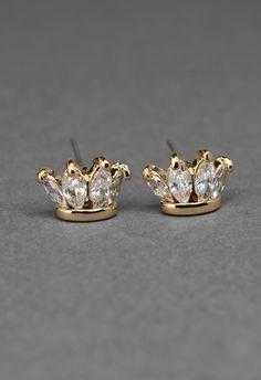 10 Best Crown Earrings Images