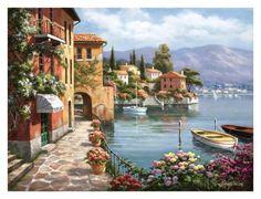 Villa del lago by Sung Kim