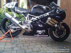 The TRX Project. The Yamaha TRX 850 blog: Bill Belcher´s TRX racer.