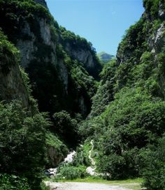 Go see Hell's Gorge in le Marche #Italy #photo