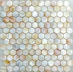 Mother of pearl kitchen backsplash tile MOP063 hexagon shell mosaic mother of pearl tiles bathroom mosaic tile