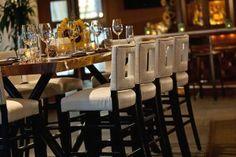 Luxury Fine Dining Hospitality Interior Design of 1500 Degrees Restaurant, Miami Beach
