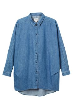 Monki | Shirts & blouses | Ylva denim shirt