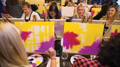 Paint-and-Sip Parties Going Strong
