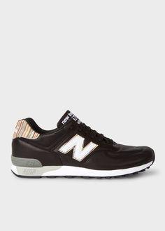 b1193080ea2 Men s Designer Sneakers. New Balance TrainersNew Balance MenPaul SmithMe  Too ShoesBlack LeatherBlack Patent Leather