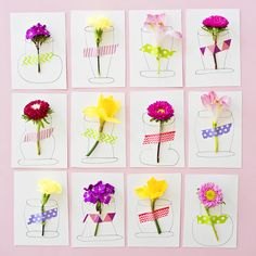 hello, Wonderful - PRETTY 3D FLOWER HANDMADE CARDS