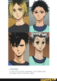Kuroo doesn't look THAT awful, but oh my Jesus Christ on a motorbike look at Bokuto