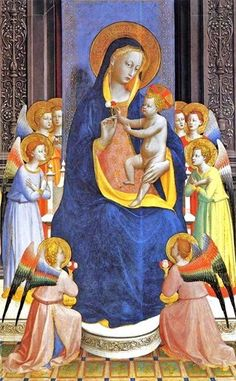 Fra Angelico: Fiesole Alterpiece detail