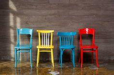 Полезные советы по сочетаниям в интерьере современной и старинной мебели, в том числе стульев в стиле «Новое ретро», в интернет-журнале Homify.
