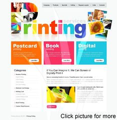 Before buying it, check out this professional Print Shop PSD Template ( - get to know technical characteristics and requirements, read testimonials, ask a question. Agriculture, Farming, Flyer Printing, Printing Services, Online Printing, Card Printing, Business Cards And Flyers, Business Flyer, Business Names
