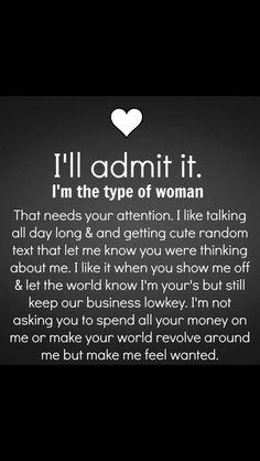 I Will Admit