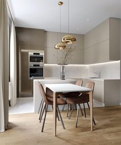 Home Decor Ideas gathered a few modern kitchen ideas, from the world's top interior designers, so you too can feel inspired to renovate your luxury kitchen. Kitchen Room Design, Home Room Design, Kitchen Cabinet Design, Modern Kitchen Design, Dining Room Design, Home Decor Kitchen, Interior Design Kitchen, Home Kitchens, Kitchen Ideas