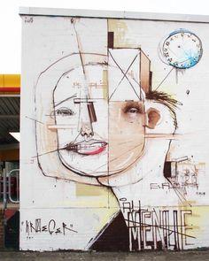 by Tobias Kroeger in Bremen - from Global Street Art (LP)