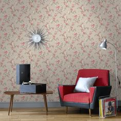 Rose Cottage Floral Wallpaper - Beige Flower Wall Coverings by Graham & Brown   Graham & Brown