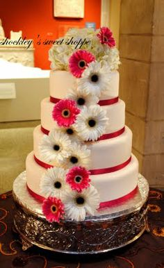 @Torey Madura Smithson---idea for a cake...maybe not as big but something like this...
