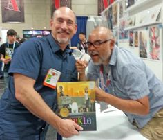 Dan Santat - the Caldecott-winning and over-caffeinated author/illustrator of Beekle.