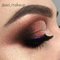 Warm brown 💫to achieve this look I used watercolors for saturated colors and gels to build a ultra-resistant makeup ☄️#makeup #makeupartist #makeupartistworldwide #mac #makeupforever #atelierparis #toofaced #anastasiabeverlyhills #brows #lashes #smokeyeyes #cateyes #vegas_nay #universodamaquiagem_oficial #hudabeauty #dressyourface #urbandecay#maquiagem #fallowme #colors #beauty #bridal #style #fashion #glam #makeupjunkie #makeupaddict #undiscovered_muas #fiercesociety