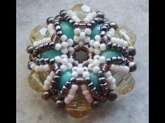 Royal Beaded Bead Pendant video TUTORIAL