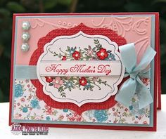 Happy Mothers Day  Stamp Set: Apothecary Art  Stampin' Up! SU by Anne Marie Hile, Stampin' Anne