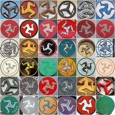 Isle of Man, triskelion/trisceli symbol Motorcycle Logo, Motorcycle Posters, Racing Motorcycles, Vintage Motorcycles, Biker Accessories, Celtic Nations, Yamaha Bikes, Samurai Art, Manx