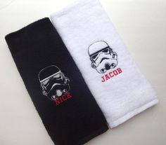 Pick Your Size STAR WARS Towels hand towels Star Wars by AugustAve