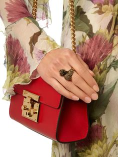 Bird brass ring | Gucci | MATCHESFASHION.COM