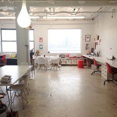 Studiomates in DUMBO, Brooklyn / photo by Tina Roth Eisenberg (swissmiss)