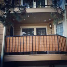 66 Ideas apartment balcony privacy diy patio - All About Balcony Apartment Balcony Garden, Apartment Balcony Decorating, Apartment Entryway, Apartment Balconies, Cool Apartments, Apartment Design, 1st Apartment, Balcony Shade, Balcony Privacy