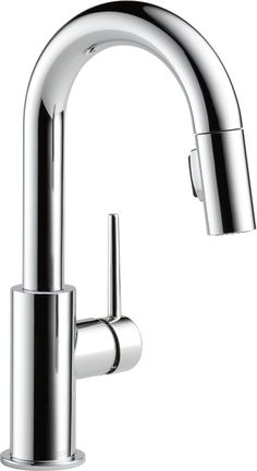 Trinsic Single Handle Pull-Down Bar Faucet, Chrome #9959