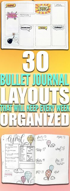 Keep track of all of your upcoming events for the week with these bullet Journal weekly layout ideas. Keep your weekly events organized with these bullet journal weekly logs. Start organizing your tasks in your bullet journal with these bullet journal weekly layout ideas!