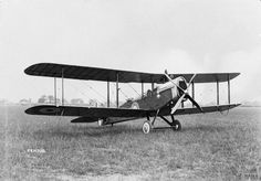 De Havilland 4 (Airco DH.4) two seat day bomber / reconnaissance biplane. Built by Westland Aircraft Company.