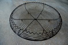 Bowl of steel wire Wire Art, Sculpture, Steel, Recycling, Manualidades, Sculptures, Sculpting, Statue, Wire Work